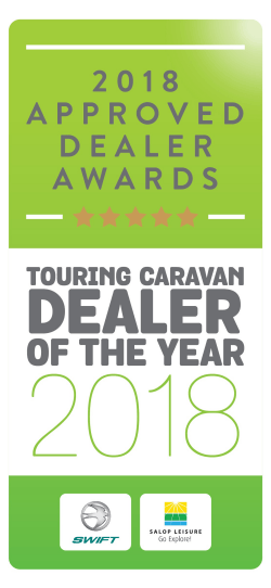 Touring Caravan Dealer of the Year 2018