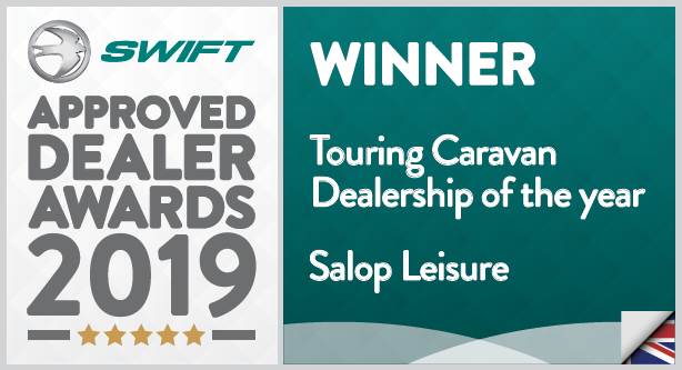 Swift Approved Dealer Award 2019